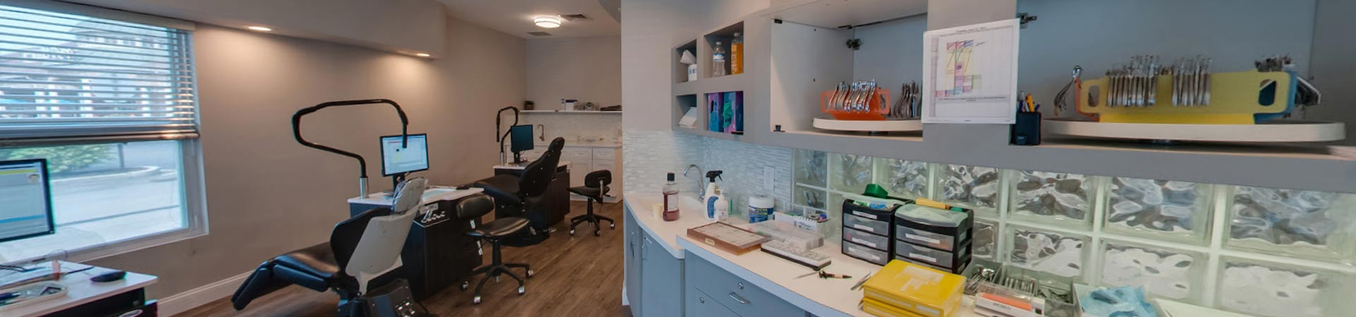 Patient Stations at Northeast Orthodontic Specialists in Loveland Cincinnati OH