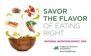 National Nutrition Month Cincinnati OH