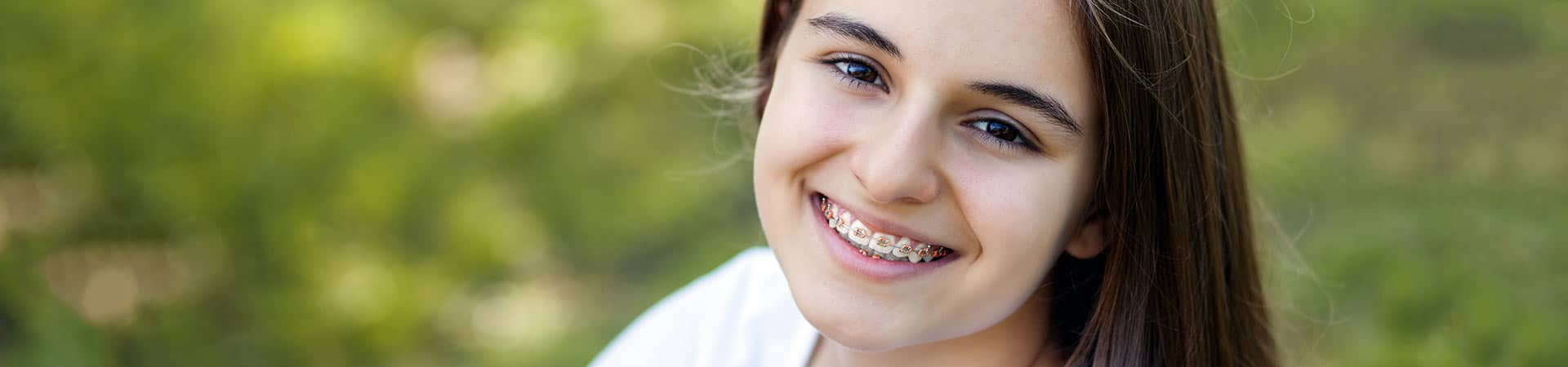 Braces 101 Girl at Northeast Orthodontic Specialists in Loveland Cincinnati OH