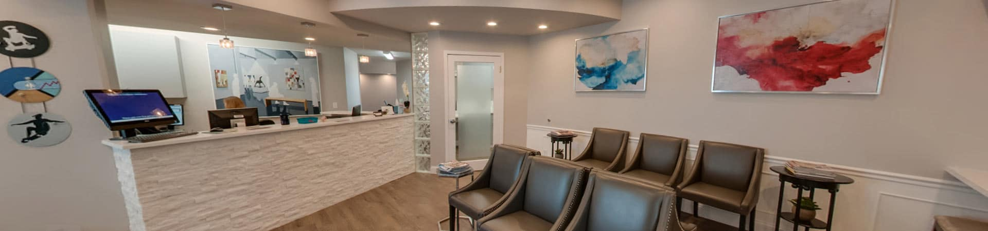 Loveland Office Waiting Area at Northeast Orthodontic Specialists in Loveland Cincinnati OH